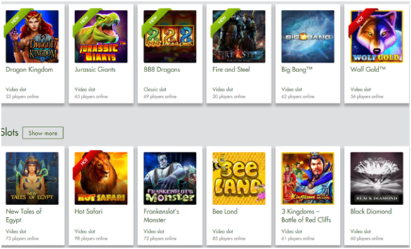 7 Reels Casino Instant Play