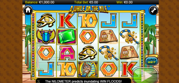 A While on the Nile - Free Pokies