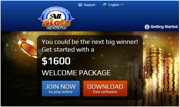 All Slots promo