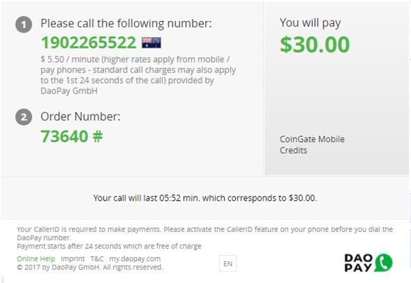 BTC Australia mobile credits
