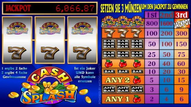 Cash-Splash