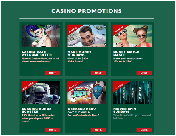 Casino Mate- Promotions