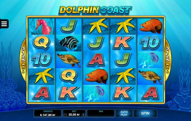 Dolphin Coast pokies