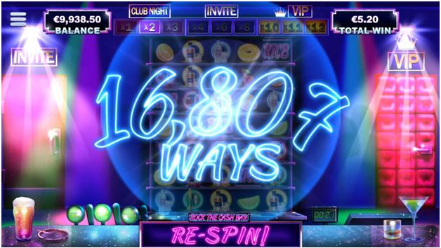 Expanding reels in Rock the cash bar pokies