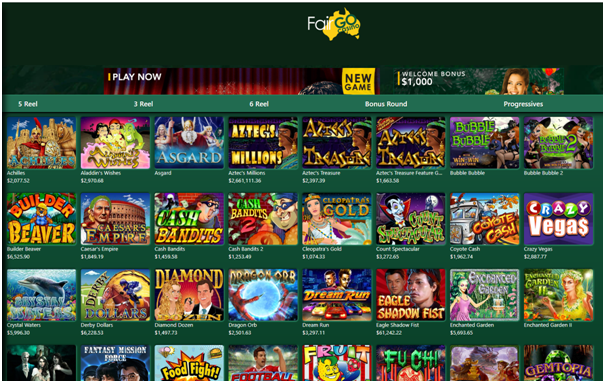 Fair Go Online Casino for Aussie Punters