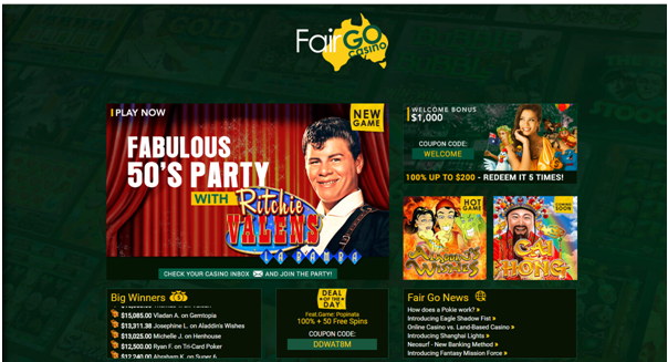 Fair Go - online casino AU