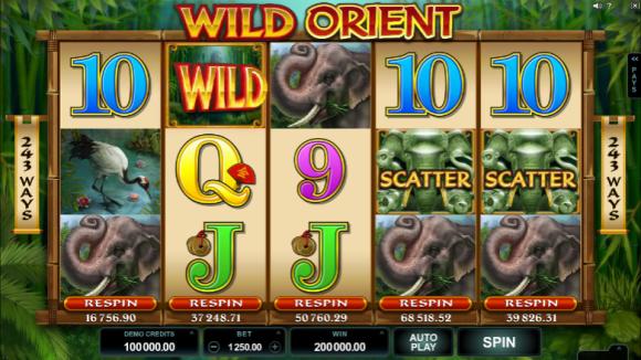 Free Wild Orient Pokie