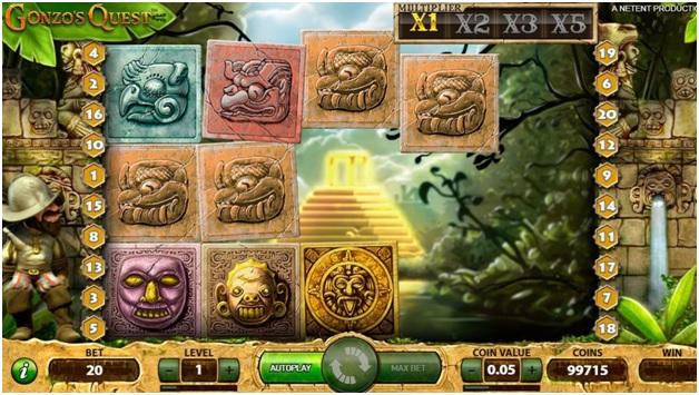 Gonzo's Quest bonus features