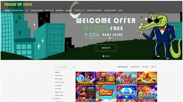 House of Jack- Online AU Casino