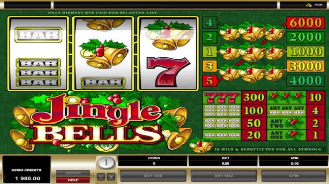 Jingle-Bells-Pokie-Machine