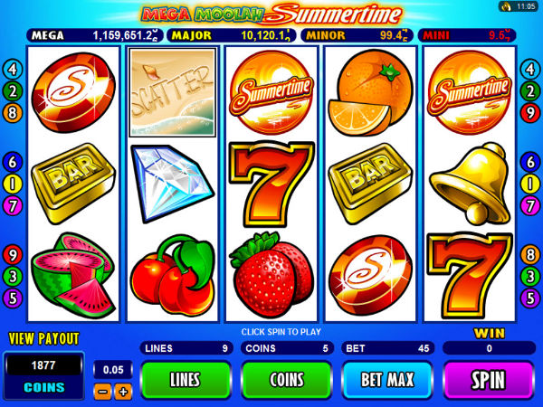 Mega Moolah-Isis Progressive Jackpot for Real Money-RizkCasino