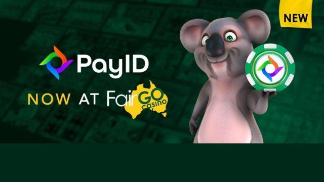 PAYID at fair go Casino