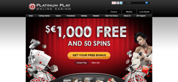 platinum play casino loyalty