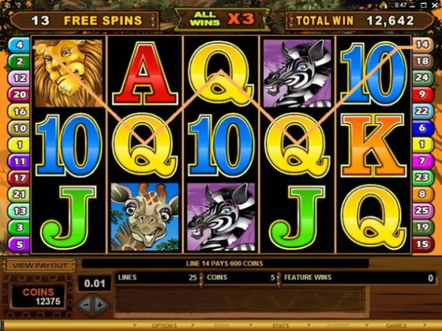 Play Mega Moolah Jackpot Free