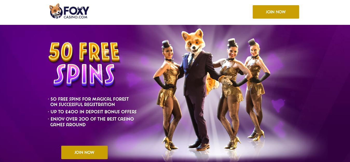Foxy casino 10 pound free