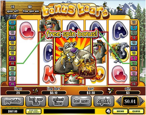 Pokies games with free spins