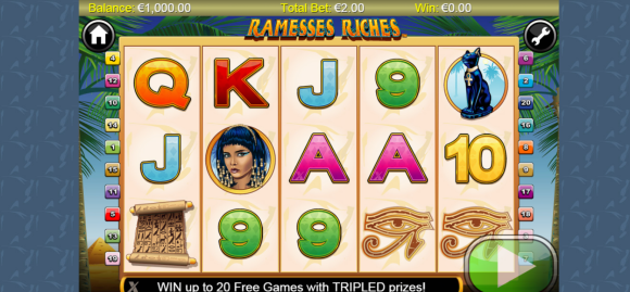 Ramesses Riches - Free Pokies