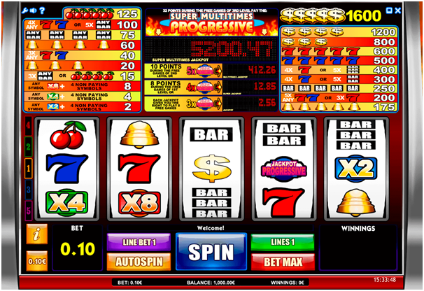 Progressive pokies maximum payout