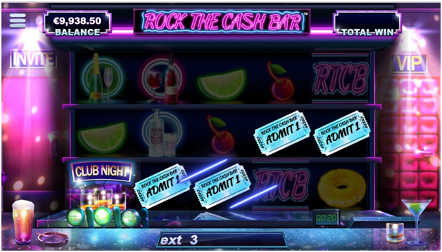 Rock the cash bar pokies for real money - Game features