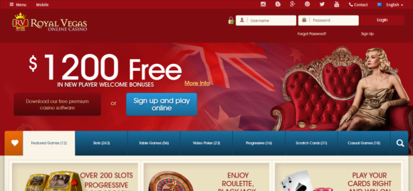 royal vegas online casino indian spirit