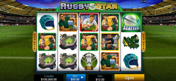 Rugby Star - Free Pokies