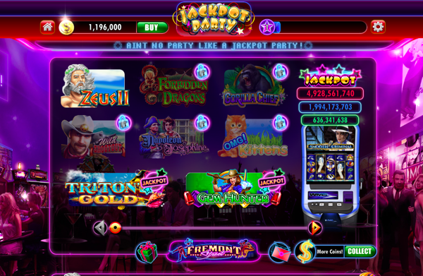jackpot party casino online  games online
