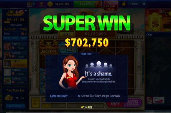 take 5 free slots