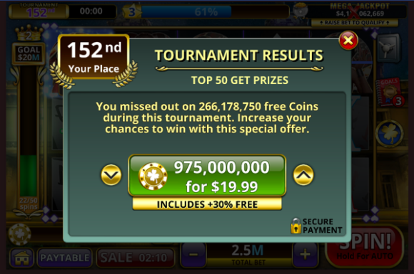 DoubleUp Slots