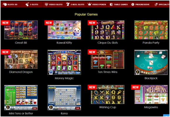 Superior Casino games