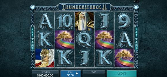Thunderstruck II - Free Pokies
