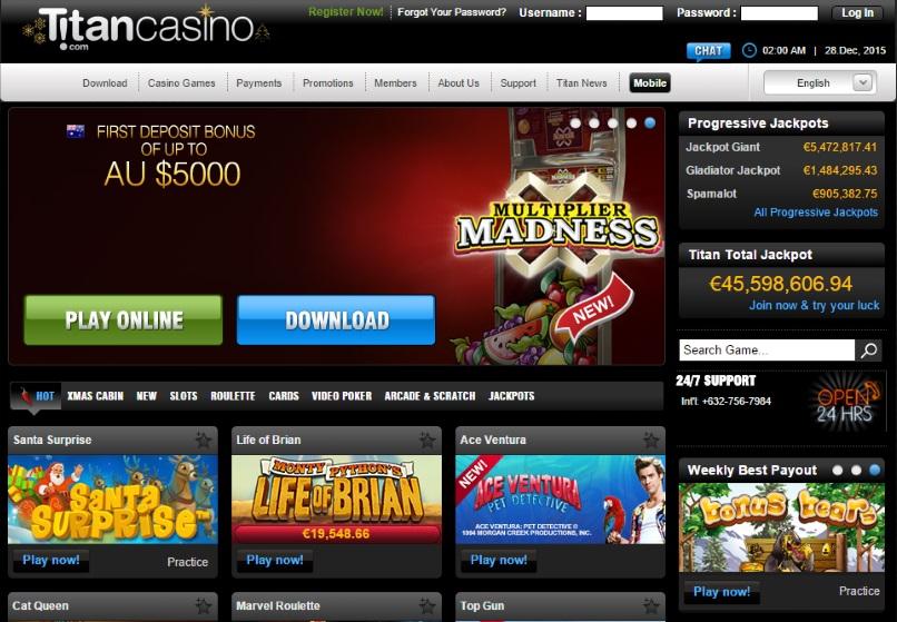 Titan Casino Instant Play
